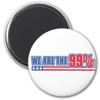 we are the 99 in the United States Fridge Magnet