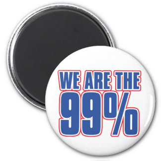 we are the 99 in the United States Fridge Magnets