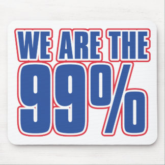 we are the 99% in the United States Mouse Pad