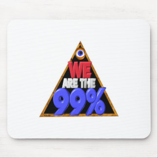 We are the 99% Occupy wall street protest Mousepad