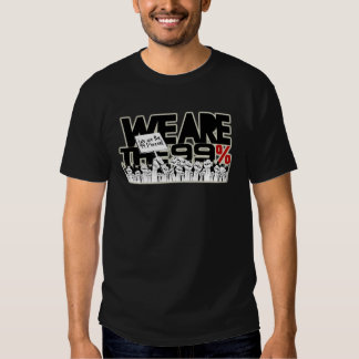 We Are The 99% - Occupy Wall-Street Tees