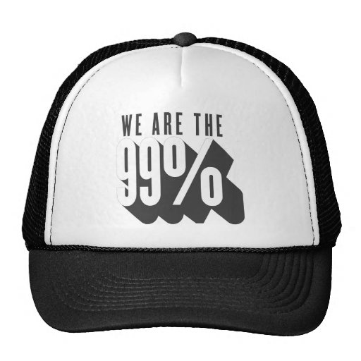 We are the 99 percent hats