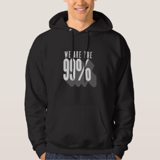 We are the 99 percent - occupy wall street hoodie