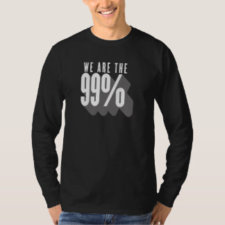 We are the 99 percent - occupy wall street T-Shirt