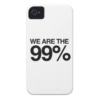 WE ARE THE 99 PERCENT -.png iPhone 4 Cases