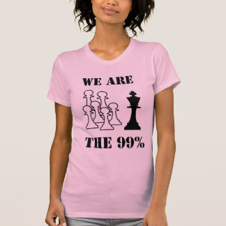 We are the 99% t-shirts