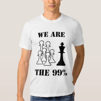 We are the 99% tshirt