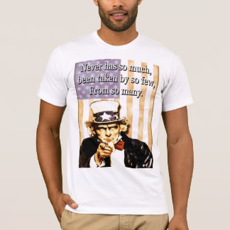 We are the 99%. Uncle Sam T-Shirt