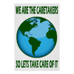 WE ARE THE CARETAKERS POSTER