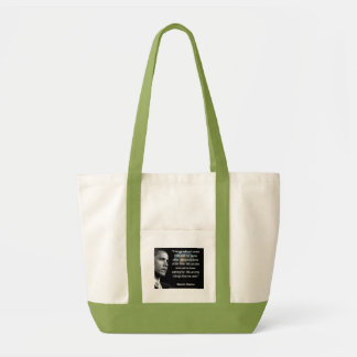"""We are the Change that we seek"""" Quote Brack Obama Impulse Tote Bag"""
