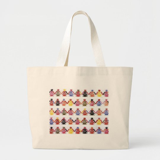 We Are The Children Large Tote Bag