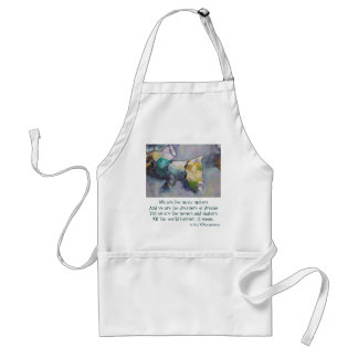 We are the dreamers of dreams standard apron