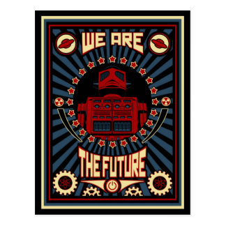 We Are The Future Postcards