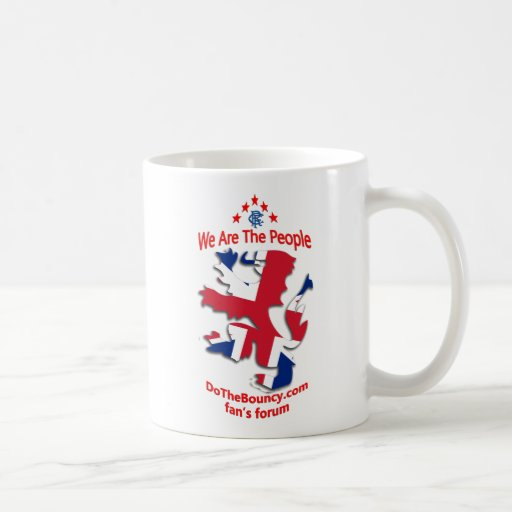 We are the people DTB Rangers Union Mug