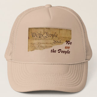 We ARE the People Trucker Hat