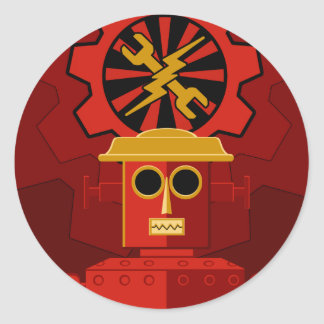 We are the Robots Classic Round Sticker