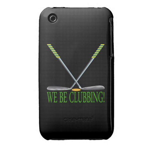We Be Clubbing iPhone 3 Cases
