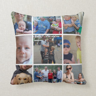 We Belong Together 9 Photo Instagram Pillow