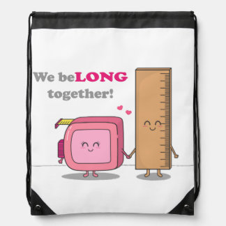 We belong together, Cute Couple in Love Rucksack