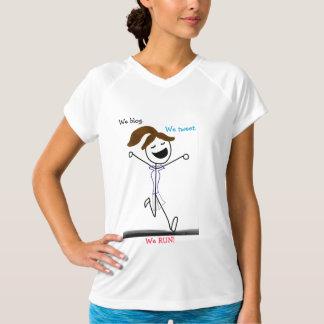 We Blog. We Tweet. We RUN!! T-Shirt