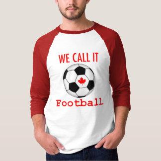 We Call It Football Mens Tee