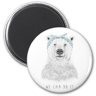 We can do it 6 cm round magnet