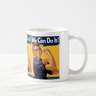 We Can Do it! Basic White Mug
