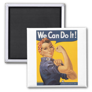 We Can Do It Fridge Magnets