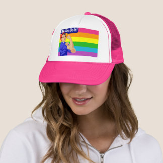 WE CAN DO IT (LGBT FLAG DESIGN) Trucker Hat