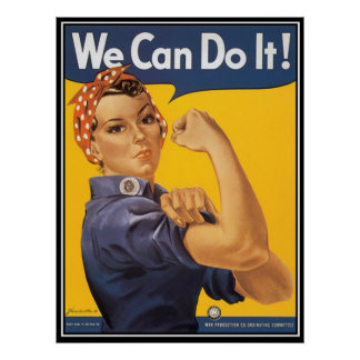 We can do it motivational poster