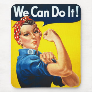 We Can Do it! Mousepad