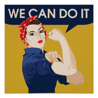 We can do it print