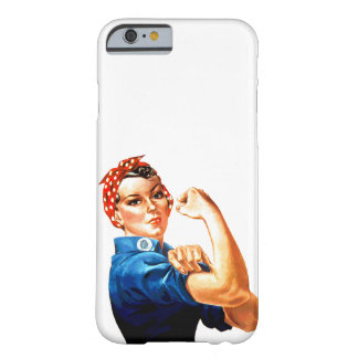 We Can Do It Rosie the Riveter Barely There iPhone 6 Case