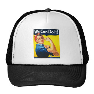 We Can Do It! Rosie the Riveter Cap