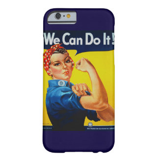 We Can Do It Rosie the Riveter iPhone 6 Case