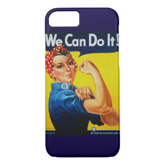 We Can Do It Rosie the Riveter iPhone 7 Case