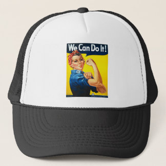 We Can Do It! Rosie the Riveter Trucker Hat