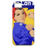 We Can Do It! Rosie The Riveter WWII Poster iPhone 5 Cases