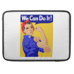 We Can Do It! Rosie The Riveter WWII Poster MacBook Pro Sleeve