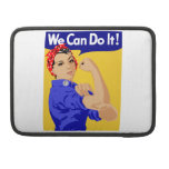 We Can Do It! Rosie The Riveter WWII Poster Sleeve For MacBooks
