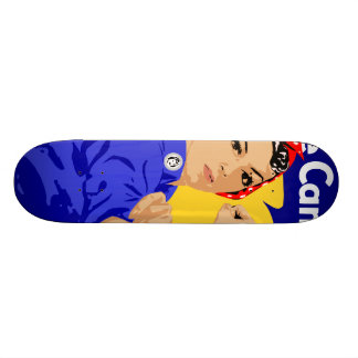 We Can Do It Rosie The Riveter WWII Poster Skateboard Deck