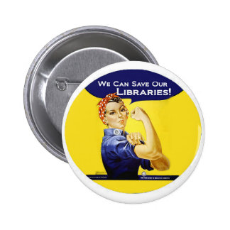 We can do it round badge