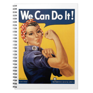 We Can Do it! Spiral Notebook