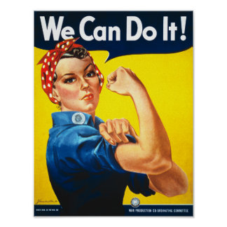 We Can Do It (Version 1) Poster