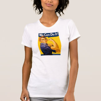 We Can Do It! Vintage Rosie the Riveter T-Shirt
