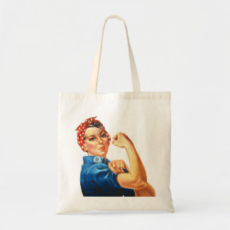 We can do it vintage tote bag