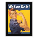 We Can Do It World War 2 Personalized Flyer