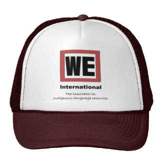 WE cap Mesh Hats