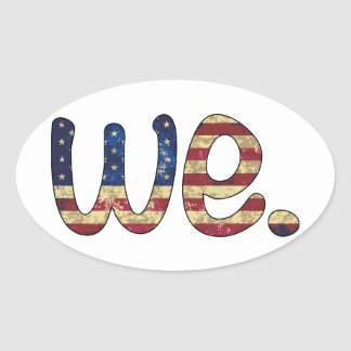 We Car Sticker