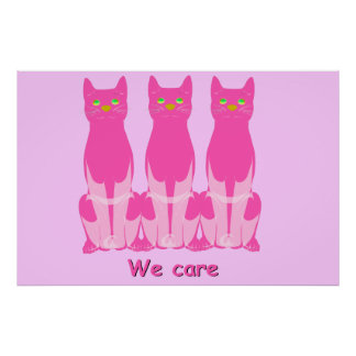 We care poster